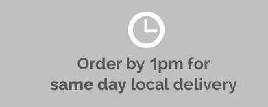 Order by 1pm for same day local delivery