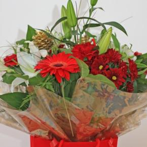 Red Xmas Bouquet