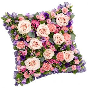 Pink and Mauve Cushion